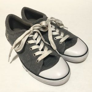 G by Guess Women's Grey Sneakers—8.5